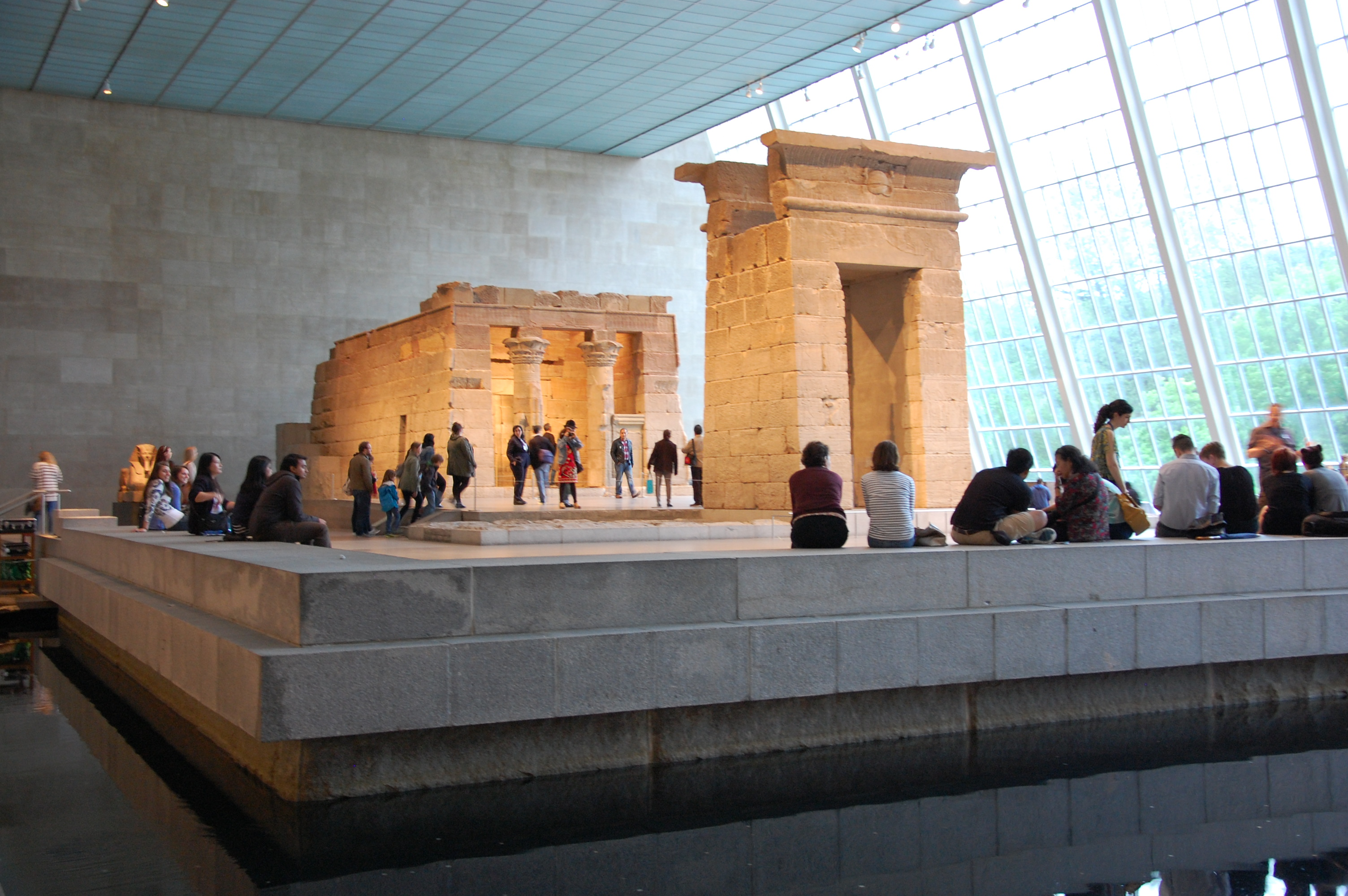 Temple de Dendur - MET - NY