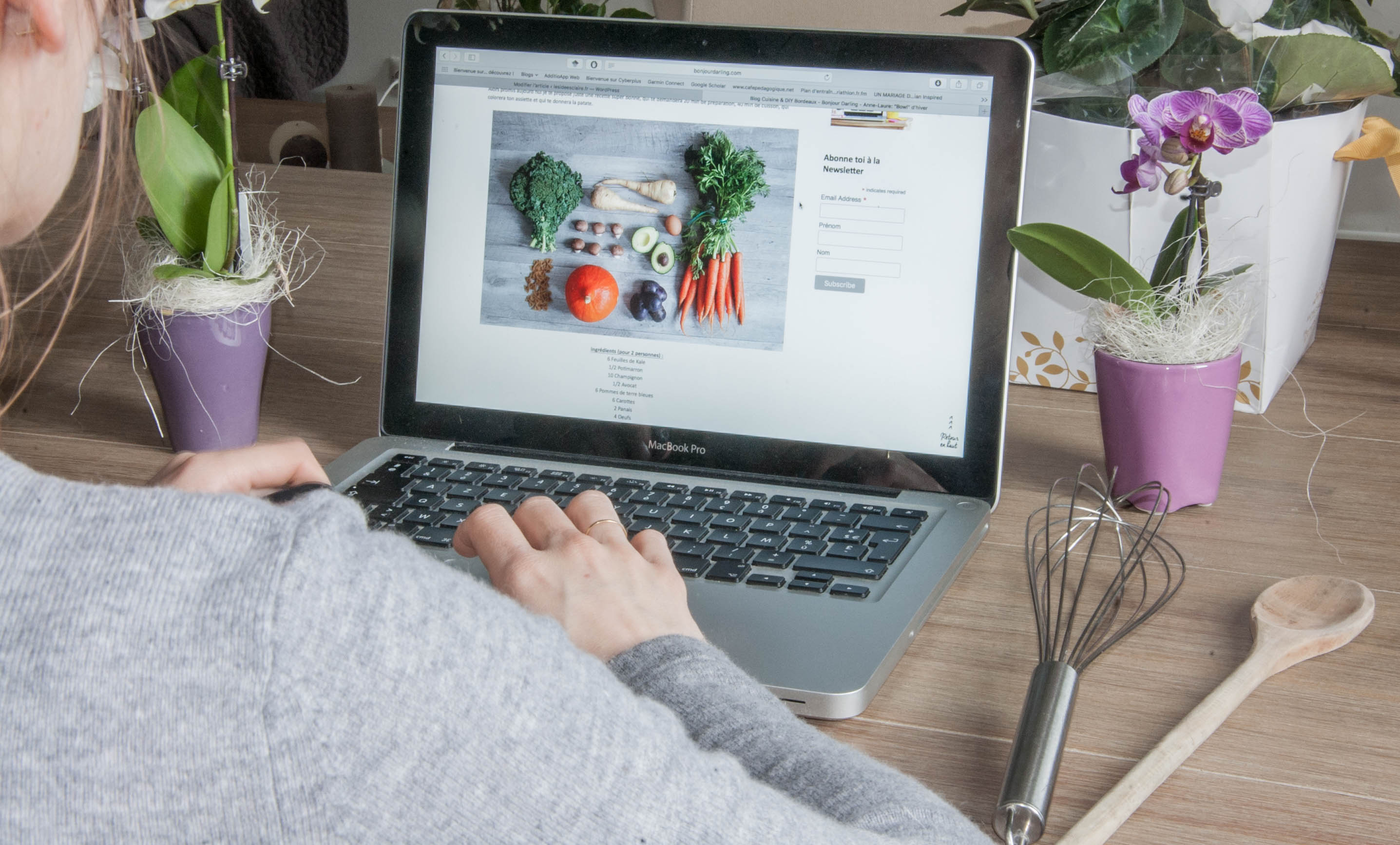 Blogs cuisine saine