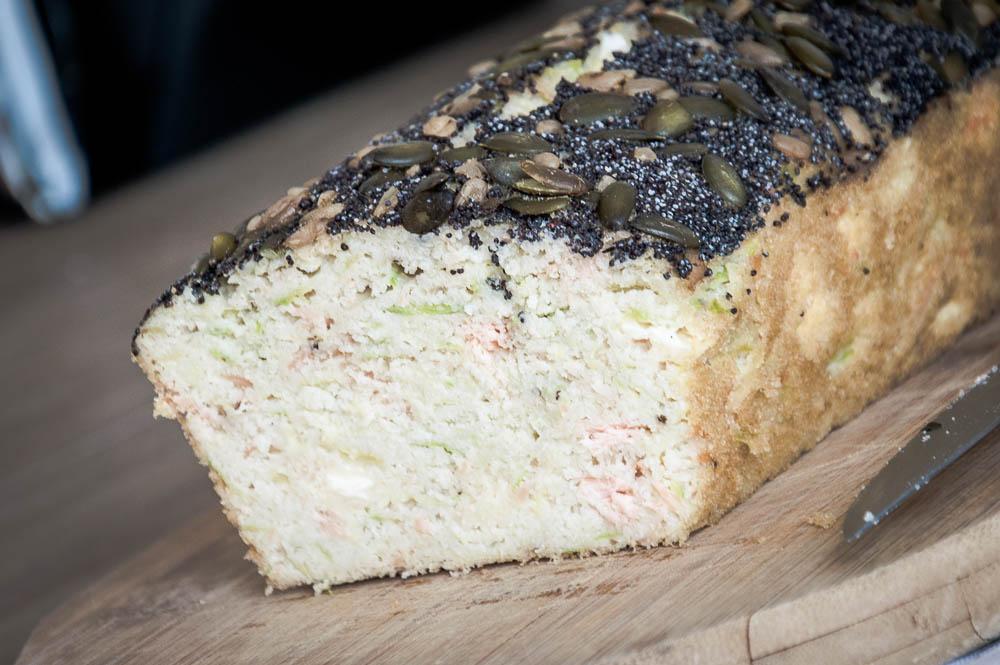 cake courgettes saumon