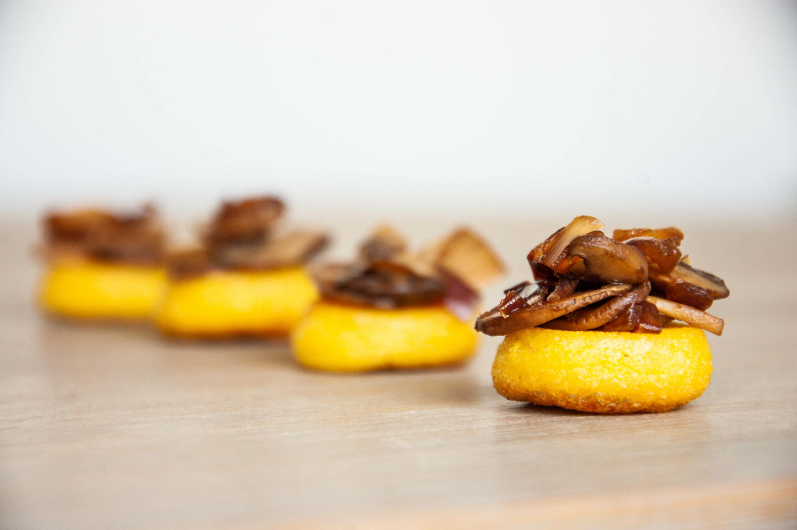 bouchée-polenta