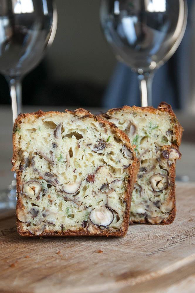 cake champignon noisettes