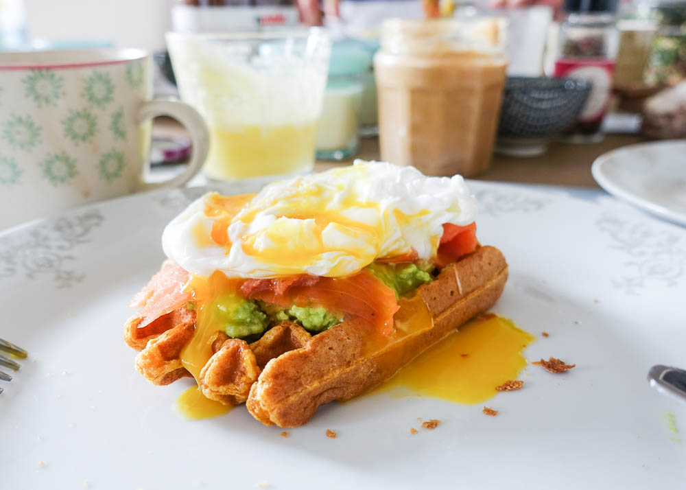 gaufre patate douce